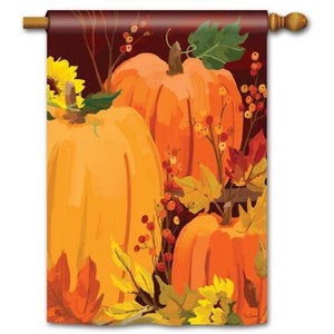 Harvest Pumpkins - Garden Flag