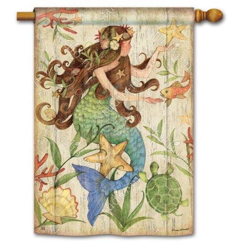 Mermaid - Garden Flag