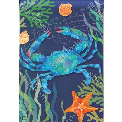 Blue Crab - Garden Flag