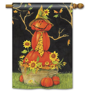 Mr. Scarecrow - House Flag - FlagsOnline.com by CRW Flags Inc.