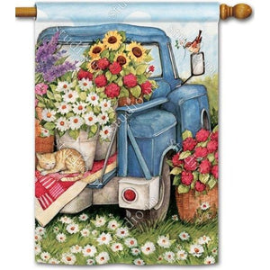 Flower Pickin Time - House Flag