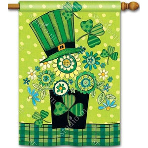 Blooming Irish - Garden Flag