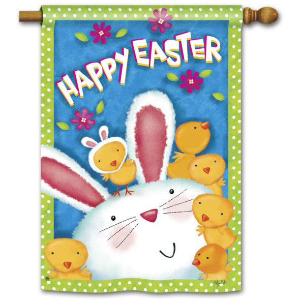 Bunny Wanna Be - Garden Flag - FlagsOnline.com by CRW Flags Inc.