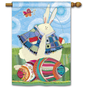 Funny Bunny - House Flag - FlagsOnline.com by CRW Flags Inc.