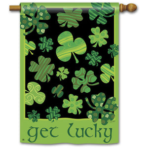 Get Lucky - House Flag - FlagsOnline.com by CRW Flags Inc.