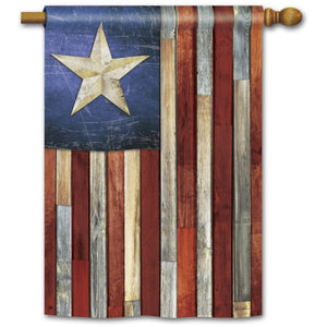 Barn Star - House Flag - FlagsOnline.com by CRW Flags Inc.
