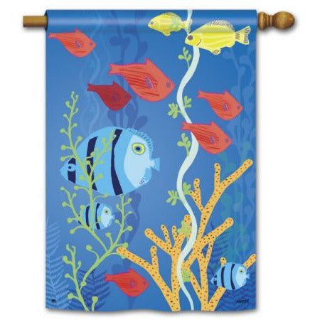 Underwater World - House Flag - FlagsOnline.com by CRW Flags Inc.