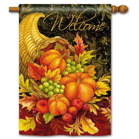Bountiful Blessings - Garden Flag - FlagsOnline.com by CRW Flags Inc.