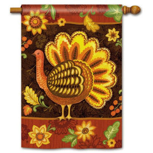 Folk Turkey - House Flag - FlagsOnline.com by CRW Flags Inc.