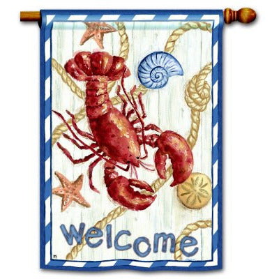 Red Lobster - Garden Flag - FlagsOnline.com by CRW Flags Inc.