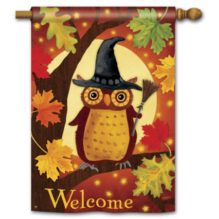 Halloween Owl - House Flag - FlagsOnline.com by CRW Flags Inc.