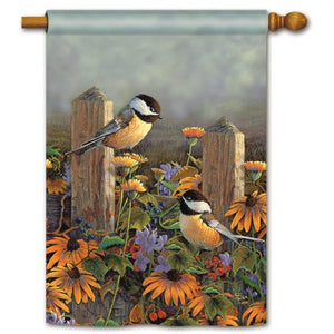 Fencepost Pair - House Flag - FlagsOnline.com by CRW Flags Inc.