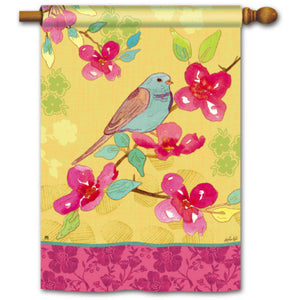Spring Song - Garden Flag - FlagsOnline.com by CRW Flags Inc.