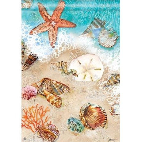 Seashore Treasures - Garden Flag