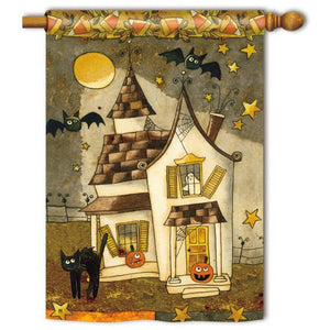 Spooky Halloween - House Flag - FlagsOnline.com by CRW Flags Inc.