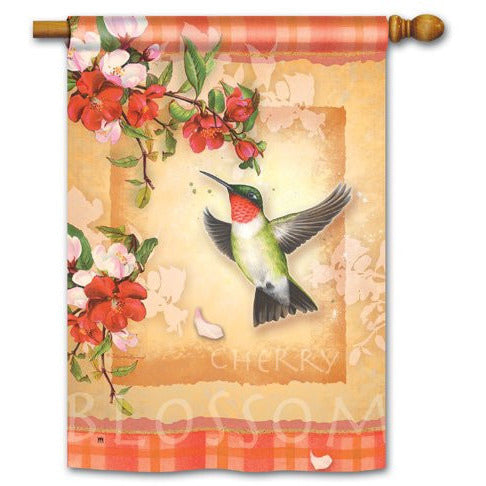 Hummingbird Plaid - House Flag - FlagsOnline.com by CRW Flags Inc.