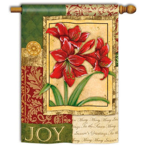 Amaryllis Tapestry - Garden Flag - FlagsOnline.com by CRW Flags Inc.