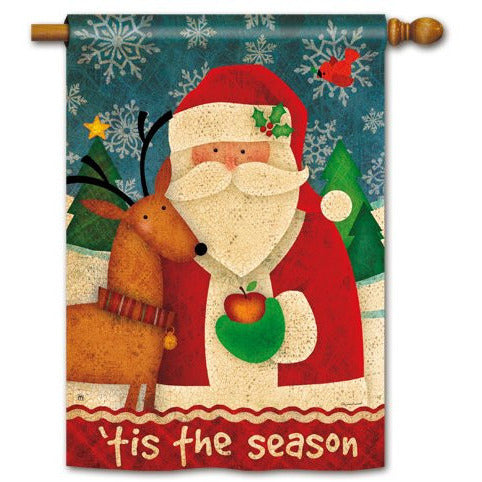 Tis The Season - Garden Flag - FlagsOnline.com by CRW Flags Inc.