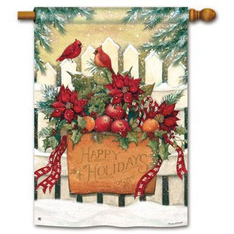 Holiday Gate - Garden Flag - FlagsOnline.com by CRW Flags Inc.