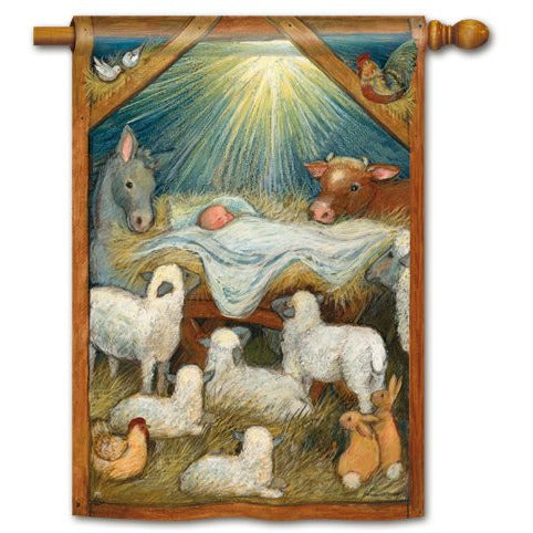 Christ Is Born - Garden Flag DISCONTINUED