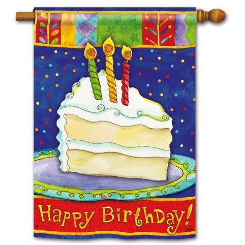 Happy Birthday - House Flag - FlagsOnline.com by CRW Flags Inc.