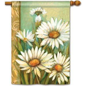Daisies - House Flag - FlagsOnline.com by CRW Flags Inc.
