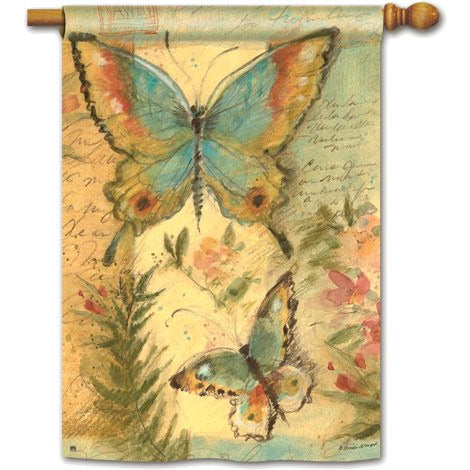 Butterfly Trail - Garden Flag