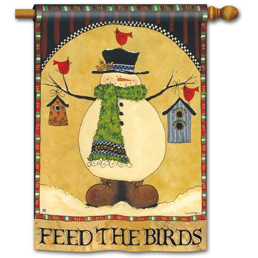 Feed The Birds - House Flag - FlagsOnline.com by CRW Flags Inc.