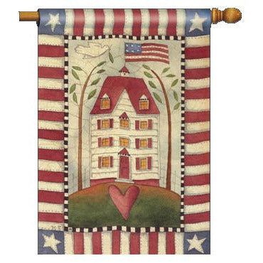 American Home - House Flag - FlagsOnline.com by CRW Flags Inc.