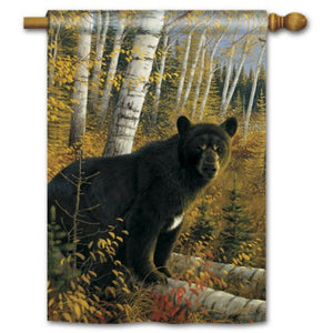 Black Bear - House Flag - FlagsOnline.com by CRW Flags Inc.