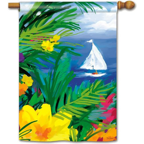 Paradise - Garden Flag - FlagsOnline.com by CRW Flags Inc.