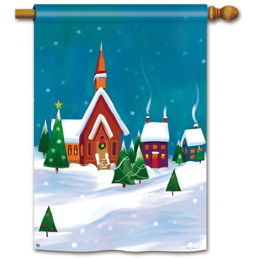 Winter Village - House Flag