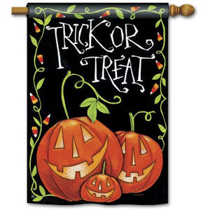 Halloween Treat - House Flag - FlagsOnline.com by CRW Flags Inc.