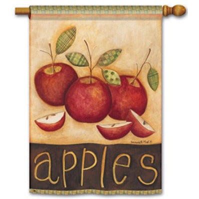 Primitive Apples - Garden Flag - FlagsOnline.com by CRW Flags Inc.