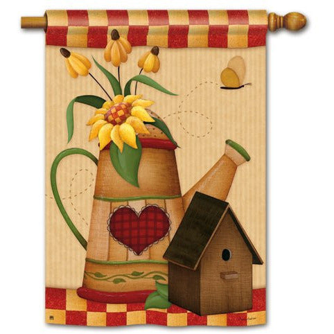 Country Charm - House Flag - FlagsOnline.com by CRW Flags Inc.