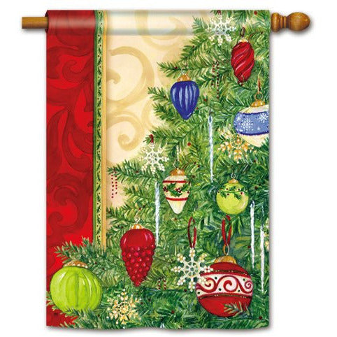 Trim The Tree - Garden Flag