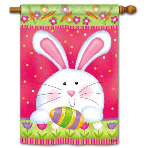 Hippity Hop - Garden Flag - FlagsOnline.com by CRW Flags Inc.