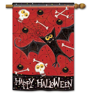 Bats & Bones - Garden Flag - FlagsOnline.com by CRW Flags Inc.