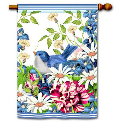 Garden Bouquet - House Flag - FlagsOnline.com by CRW Flags Inc.