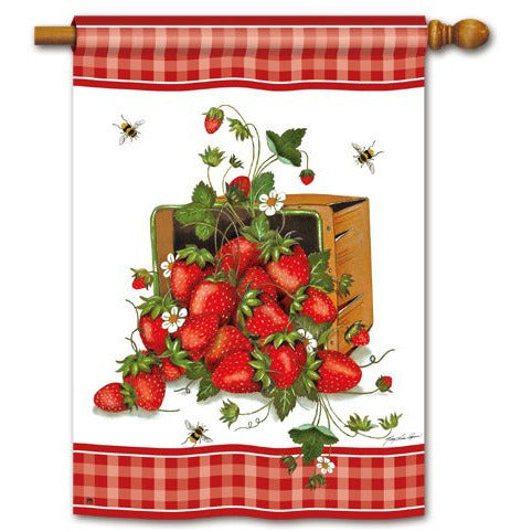 Strawberry Basket - House Flag