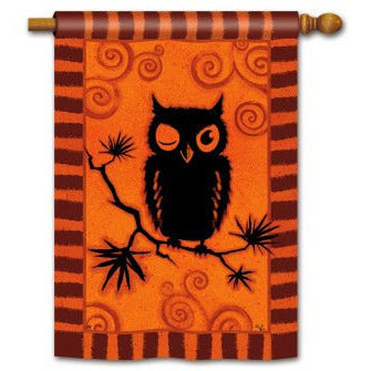 Hoot Owl - House Flag - FlagsOnline.com by CRW Flags Inc.