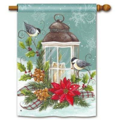 Christmas Lantern - House Flag