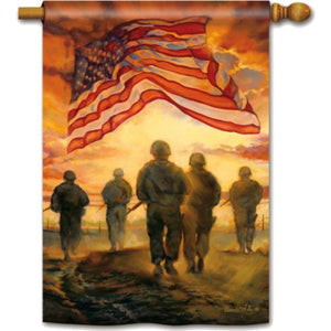 American Heroes - House Flag - FlagsOnline.com by CRW Flags Inc.