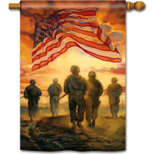 American Heroes - Garden Flag - FlagsOnline.com by CRW Flags Inc.
