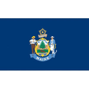 Maine Flag - Industrial Polyester