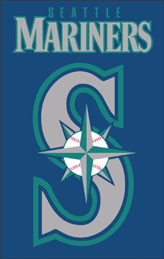 Seattle Mariners House Flag 2 Sided