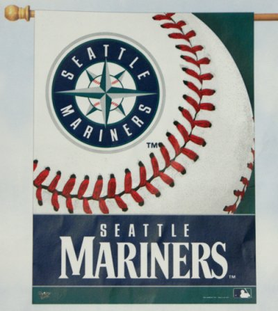 Seattle Mariners House Flag