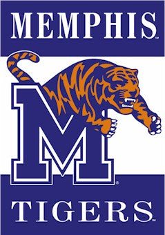 University of Memphis House Flag 2 Sided