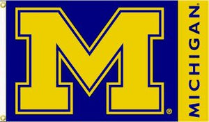 University of Michigan 3x5ft Flag
