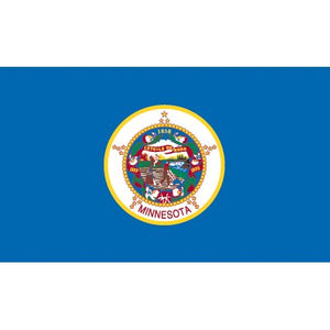 Minnesota Flag - Industrial Polyester
